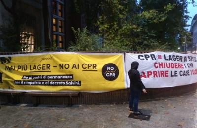 CPR di via Corelli a Milano. Sarà una lunga resistenza
