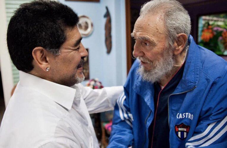 Quando Maradona apprese della scomparsa di Fidel Castro