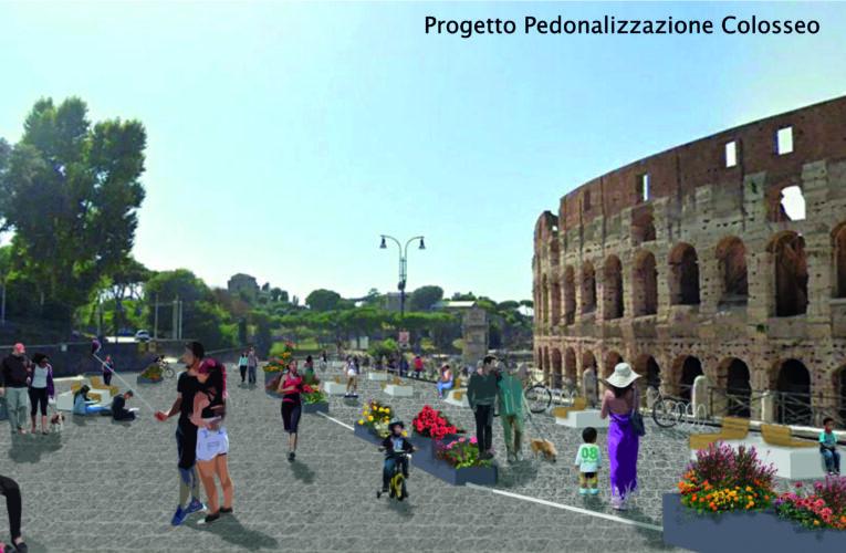 """Legambiente, """"come liberare il Colosseo dalle auto"""""""