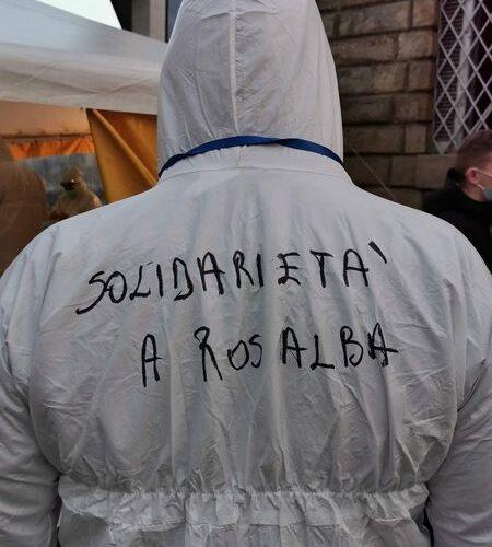 Rosalba Romano, infermiera e attivista NO-TAV che rischia una condanna