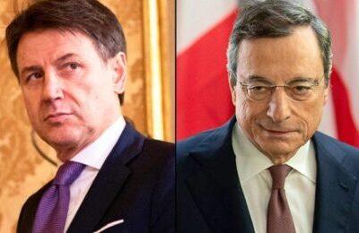 Governo Draghi, i 2 scenari con Conte leader del M5S