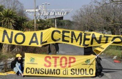 """Stadio AS Roma, Legambiente """"Stop più che giusto"""""""