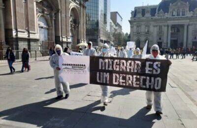 """""""Cile. Migrare è un diritto"""""""